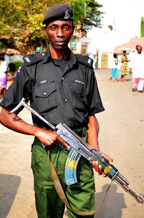 photoblog image Nigerian Police